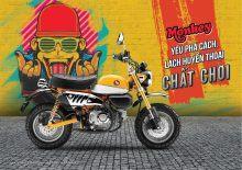 Honda Monkey 125ccỏ