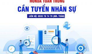 HEAD TOÀN TRUNG THÔNG BÁO TUYỂN DỤNG 3/2021