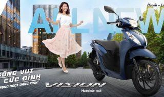 Tậu Xế Sang Xịn – Sống Vui Cực Đỉnh Với Honda Vision